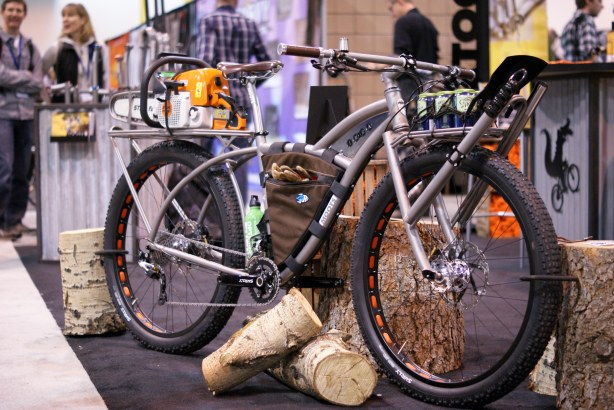 NAHBS 2013: Moots IMBA Trail Maintenance Bike